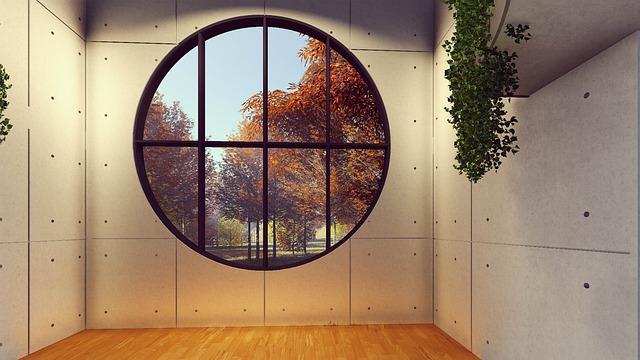 kulaté okno