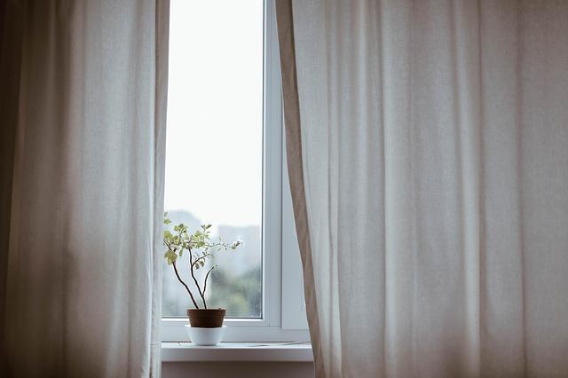 květináč na okně